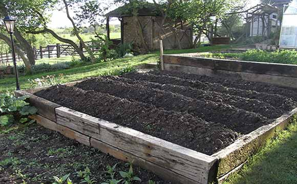 Raised Beds for Crop Rotation