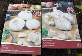 Garlic Packets